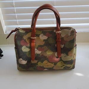 Dooney& Bourke Camouflage Olivia Satchel